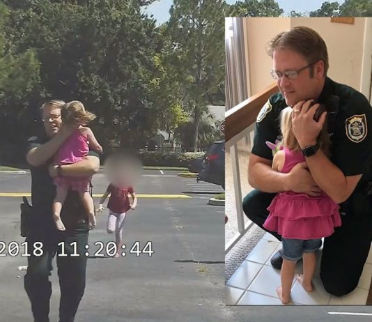 Deputy races to save child from hot car death