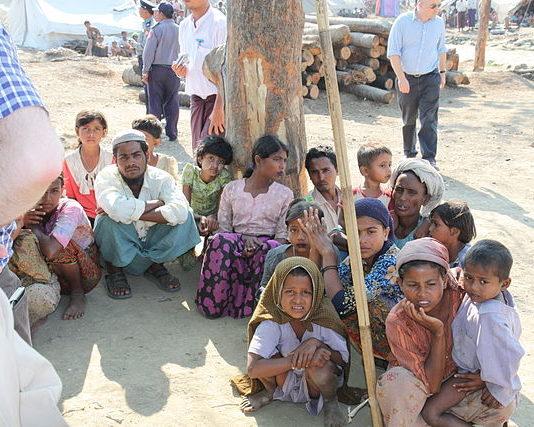 Rohingya in Rakhine state - Wiki photo