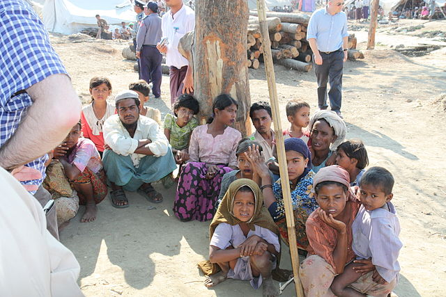 Rohingya in Rakhine state - Wiki photo