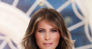 Melania Trump official portrait
