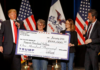 Large campaign donations through Trump Foundation