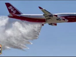 747 being used in Carr Fire
