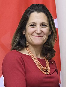 Canada's eternal affairs minister.
