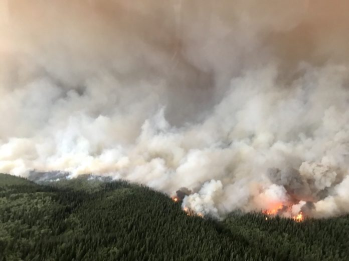 BC wildfires air quality warnings