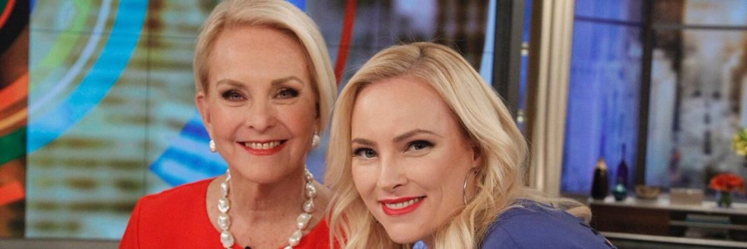 Cindy and Meghan McCain