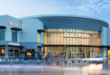 Guildford Mall towers Legionnaires's disease