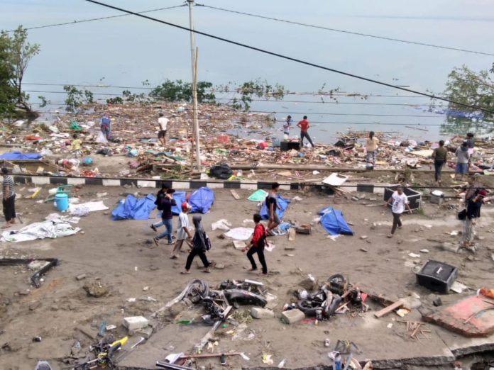 Devastation in Sulawesi