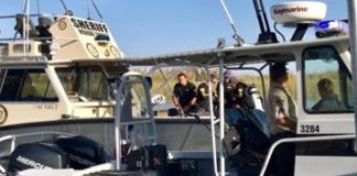 Mohave Sheriff's search boat