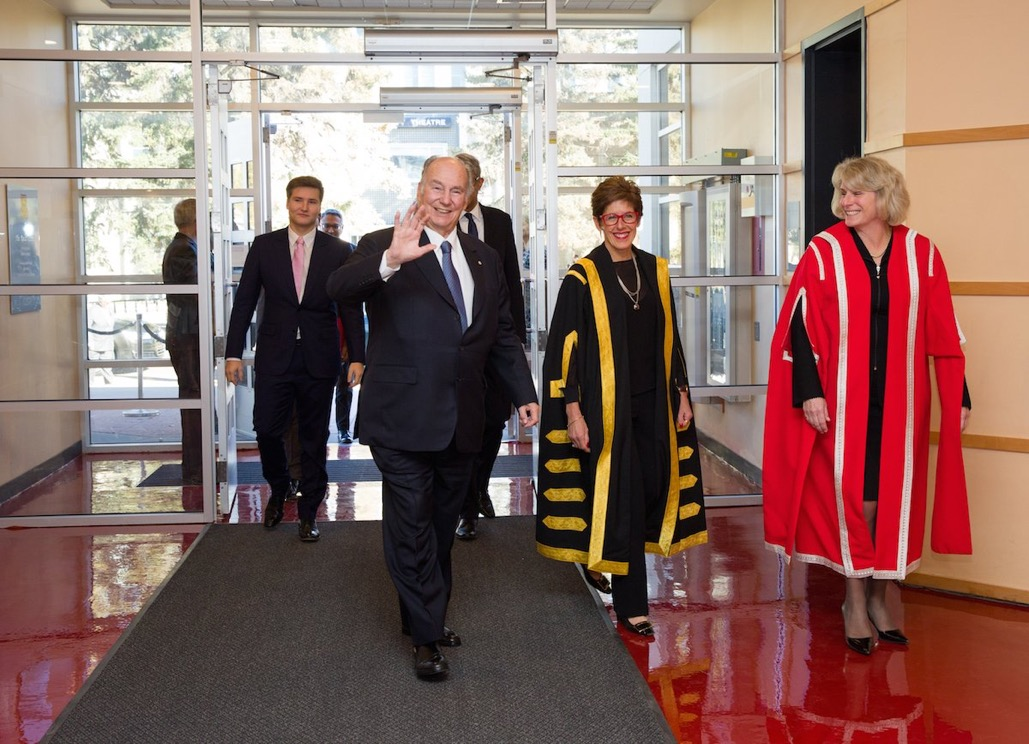 Aga Khan at University of Calgary