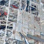 Damage to hangars at Tyndall Air Force Base