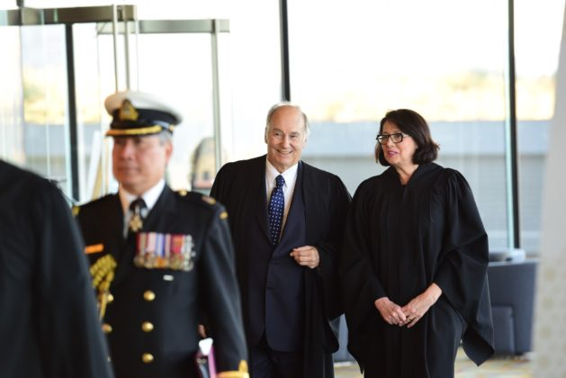 Aga Khan with Lt-Governor of BC Janet Austin
