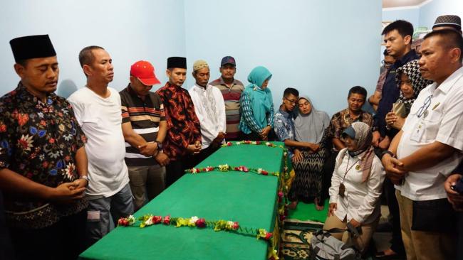 Jannatun Dewi coffin